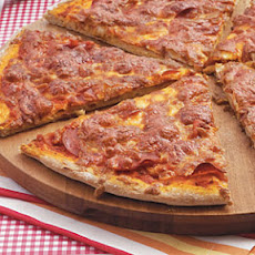 Whole-Wheat Pepperoni Pizza