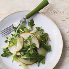 Asian Pear, Celery, and Arugula Salad