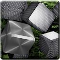 Metallic Cubes Live Wallpaper icon