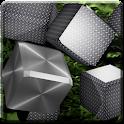 Metallic Cubes Live Wallpaper