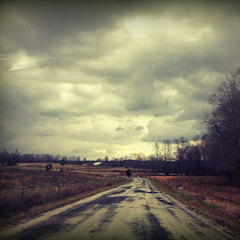 A few back roads always cheer me up by Sammi Faught - Landscapes Travel