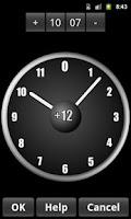 Screenshot of AdyClock - Night clock, alarm