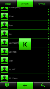 THEME CHESS GREEN FOR EXDIALER - screenshot