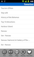 Screenshot of Bahamas - FREE Travel Guide