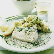 Haddock With Parsley Sauce