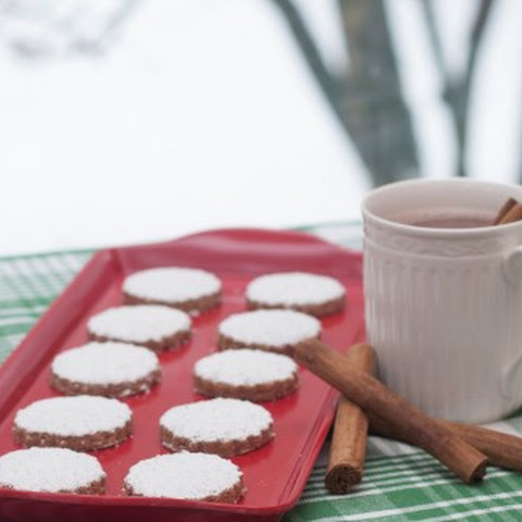 Mexican Cinnamon Shortbread Cookies