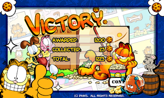 Screenshot of Garfield's Defense
