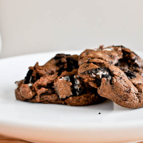 Double Fudge Oreo Crunch Cookies