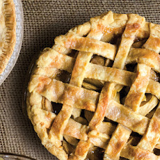 Apple-Rosemary Lattice Pie