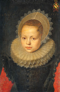 RIJKS: workshop of Michiel Jansz. van Mierevelt: painting 1618