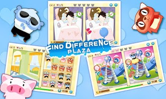 Screenshot of Find Differences Plaza