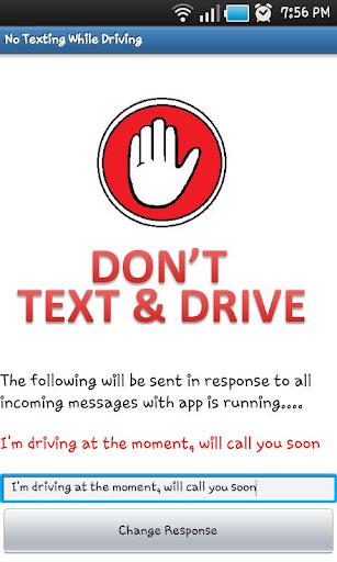 Drive Safe - Dont Text