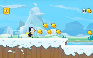 Screenshot of Ice World Penguin 2 - Fishing