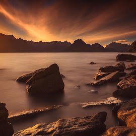 Elgol by Federica Violin - Landscapes Sunsets & Sunrises ( scotland, sunset, elgol, landscape, isle of skye )