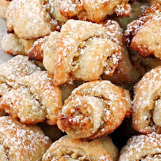 Walnut Rugelach Cookies