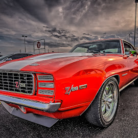 Red Z28 by Ron Meyers - Transportation Automobiles