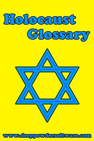 Holocaust Glossary