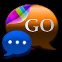 GO SMS Cobalt Inferno - Theme