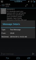 Screenshot of ICS SMS