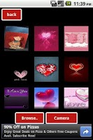 Screenshot of Make Love Cards