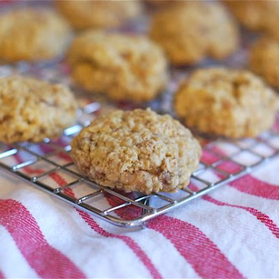 Oatmeal Heath Bar Cookies