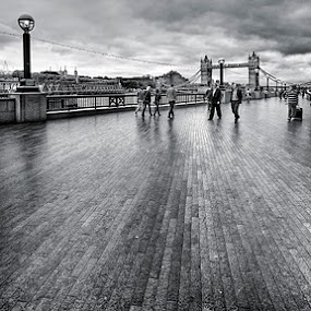Tower Bridge by Nick Holland - City,  Street & Park  Vistas