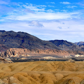 20 Mule Team Canyon by Janice Burnett - Landscapes Deserts ( death valley, desert, nature, outdoors, arrrid )