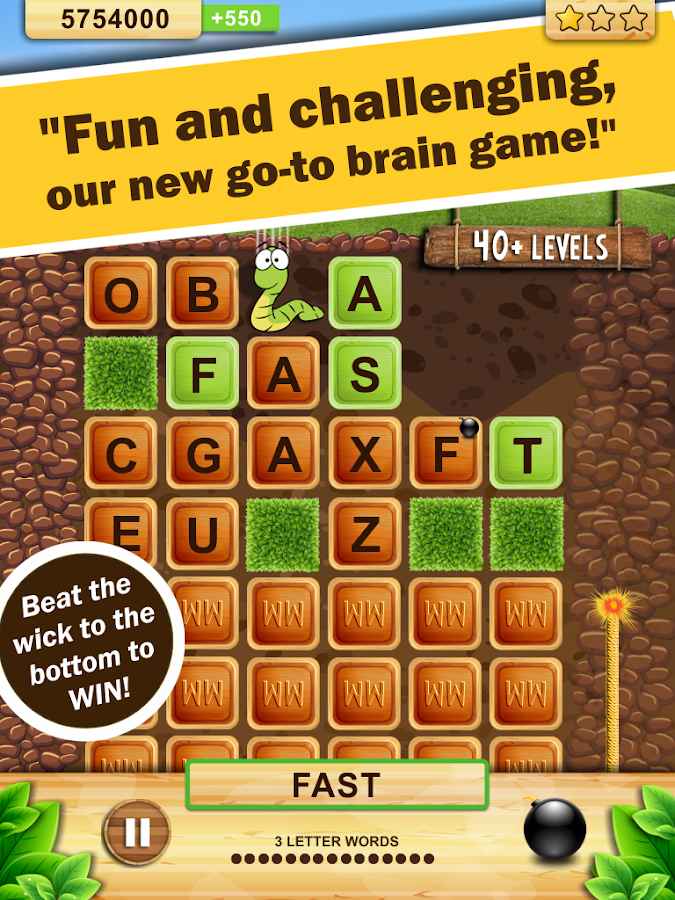 Взлом Word Wow - Action word game.