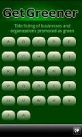 Screenshot of Go Green Eco-Directory