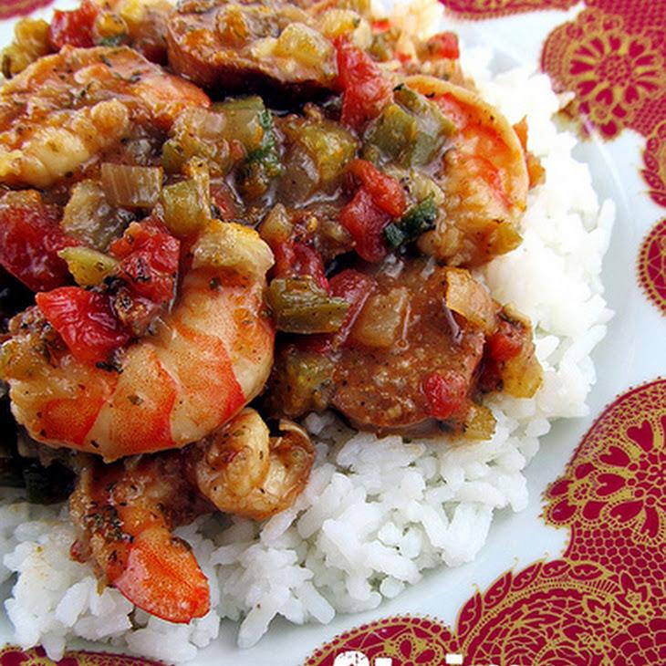 Shrimp and Sausage Jambalaya Recipe | Yummly