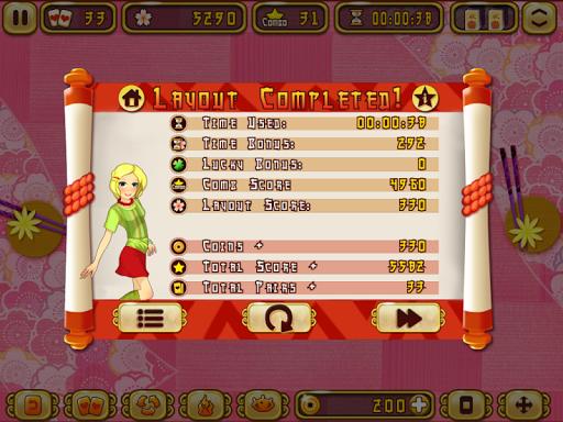 Sushi Mahjong Deluxe - screenshot
