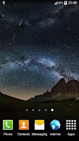 Screenshot of Star Night Live Wallpaper