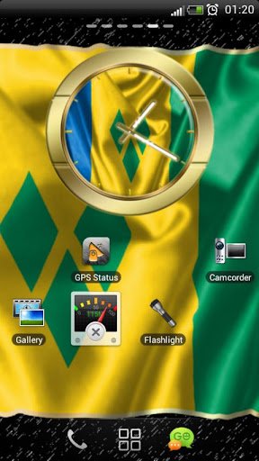 Saint Vincent Grenadines clock