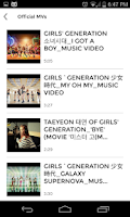 Screenshot of Girls Generation / SNSD Club