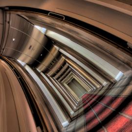 W(here)'s Johnny! by Simon Eastop - Digital Art Things ( droste, johnny, corridor, shining, hotel )