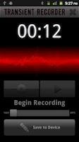 Screenshot of Transient Recorder