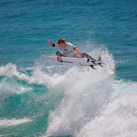 ripping by Cam Neale - Sports & Fitness Surfing