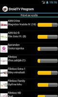 Screenshot of TV Program - DroidTV