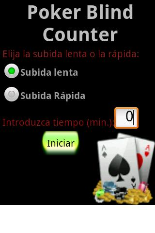 Poker Blind Counter
