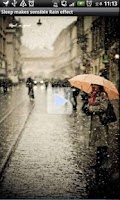 Screenshot of Sensible Rain Effect Classic