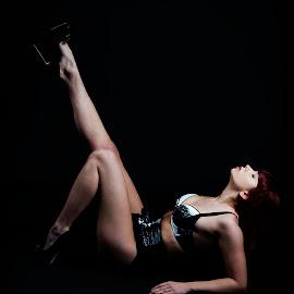 Pose by Alda Sykes - Nudes & Boudoir Boudoir ( studio, model, lingerie, underwear, lighting, woman, boudoir )