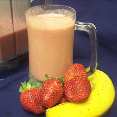 Peanut Butter-Berry Smoothie