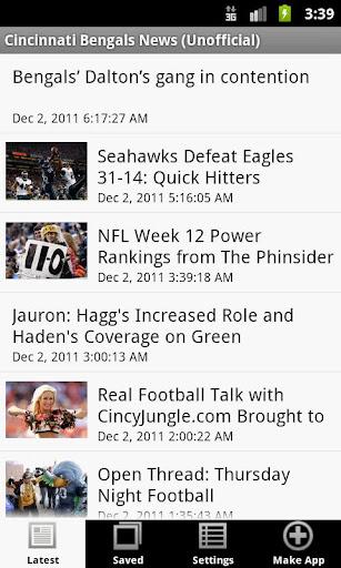 Cincinnati Bengals News NFL