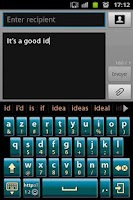 Screenshot of Practice Keyboard