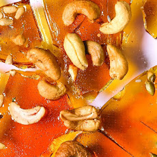 Cashew and Cayenne Brittle