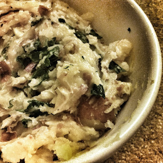 Smoky Garlic Mashed Potatoes