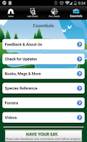 Screenshot of iFish Alberta