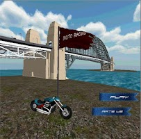 Screenshot of Moto Racing