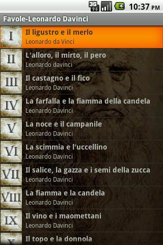 Favole - Leonardo Davinci