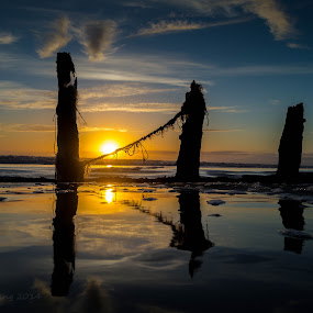sunset by Gareth Fleming - Landscapes Sunsets & Sunrises